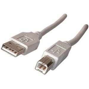 CÂBLE INFORMATIQUE Câble USB type AB 1,8m (compatible USB 1.1 et USB