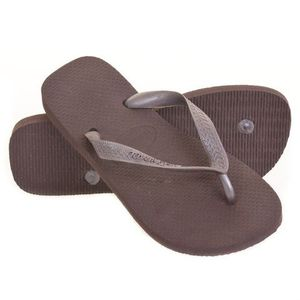 TONG Tong HAVAIANAS TOP METALLIC Marron