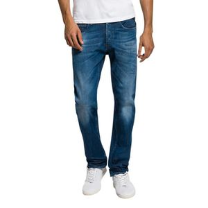 JEANS Replay Homme Fit Grover Laser Jeans, Bleu
