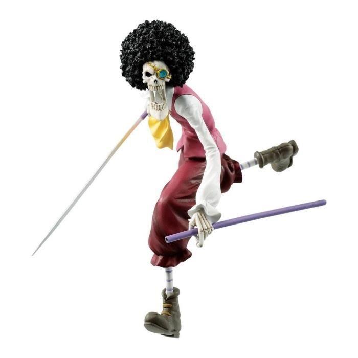 Figurine ONE PIECE STAMPEDE - Ichibansho Brook - 15cm