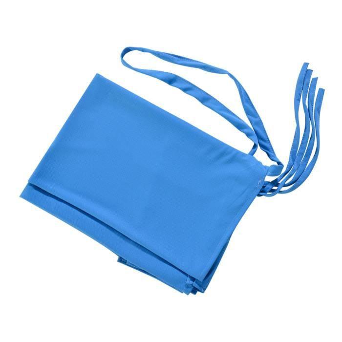 Nouveau stockage serviette de plage ensemble inclinable chaise longue serviette de plage couverture m - Modèle: Blue - KSYYMJA02726