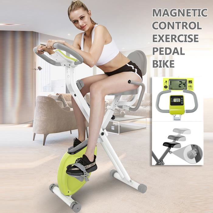 Vélo d'appartement Hauteur Réglable Charge MAX 120 kg