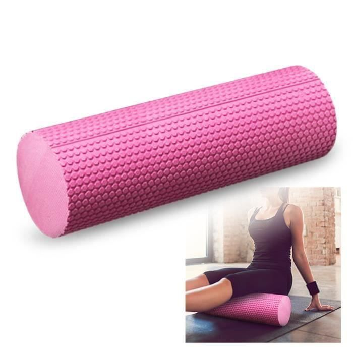 18x6IN Yoga Rouleau En Mousse Haute Densité EVA Muscle Roller Auto Outil De Massage pour Gym Pilates Yoga Fitness J