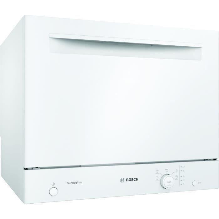 SHOT CASE - BOSH SKS51E32EU Lave-vaisselle compact pose libre - 6 couverts- 49 dB - A+ - 55 cm - Blanc - Moteur EcoSilence Drive