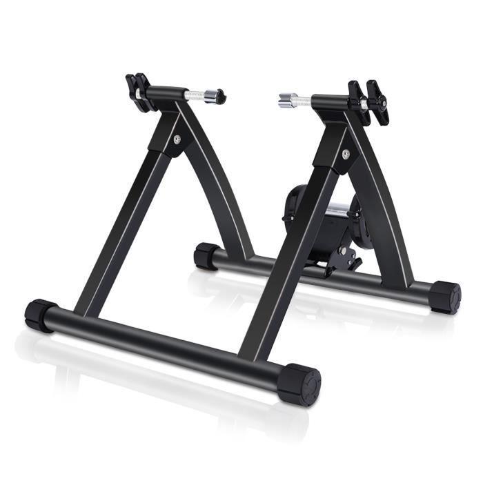 Fydun Machine d'exercice de Vélo Vélo d'appartement Magnétique Entraîneur de Vélo d'exercice d'intérieur de Vélo HB044