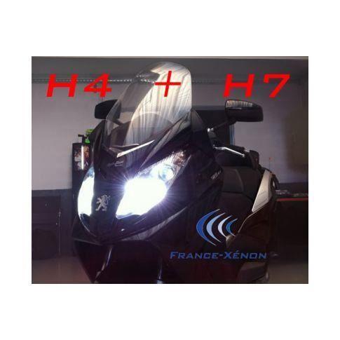 Pack H4 Bi-xénon + H7 xénon pour FZ6 S2 ou autre