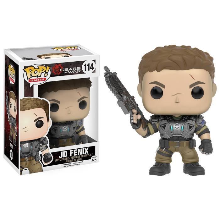 Figurine Funko Pop! Gears of War : Jd Fenix