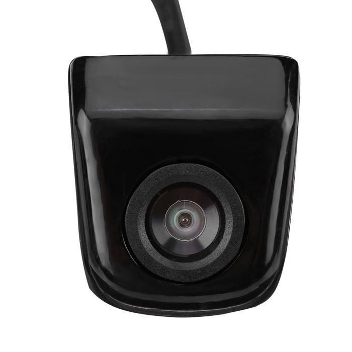 HURRISE Caméra de recul CCD Caméra de recul de voiture CCD caméra de recul de vision nocturne de stationnement étanche noir