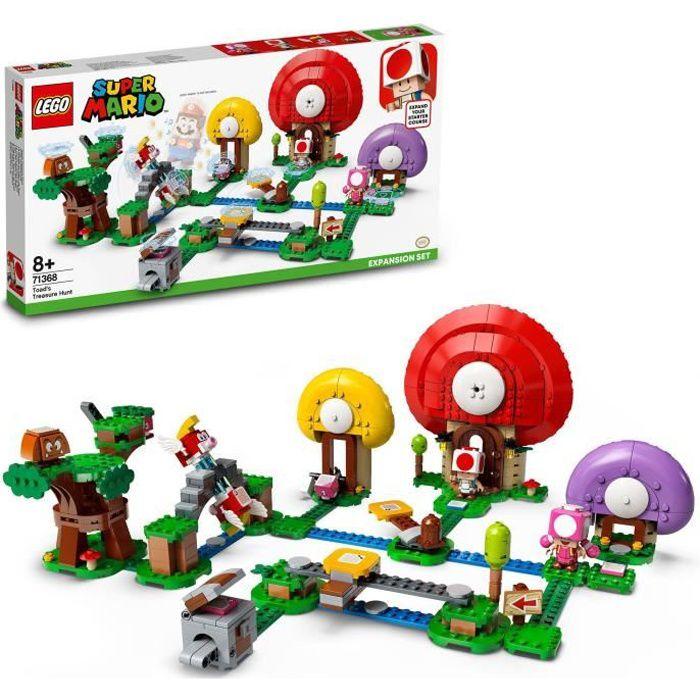 LEGO® Super Mario™ 71368 Ensemble d'extension La chasse au trésor de Toad