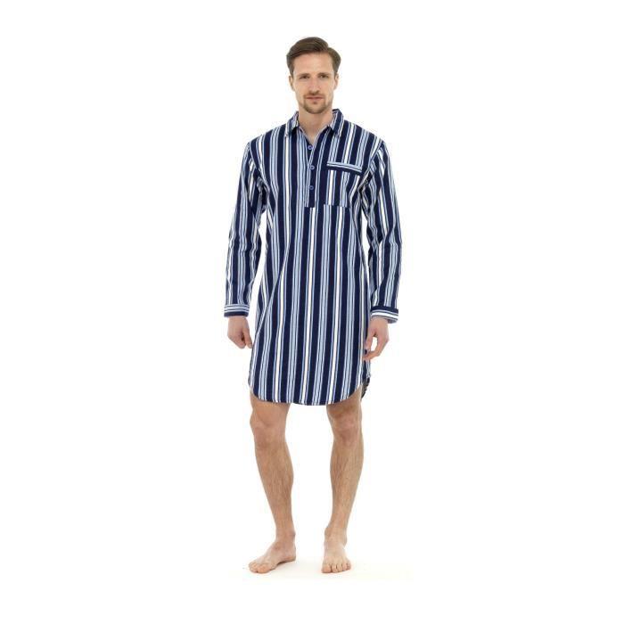 Chemise de Pyjama Moderne à Rayures pour Homme ...