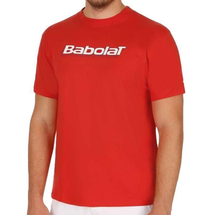 Babolat - T-shirt homme - tennis manches courtes