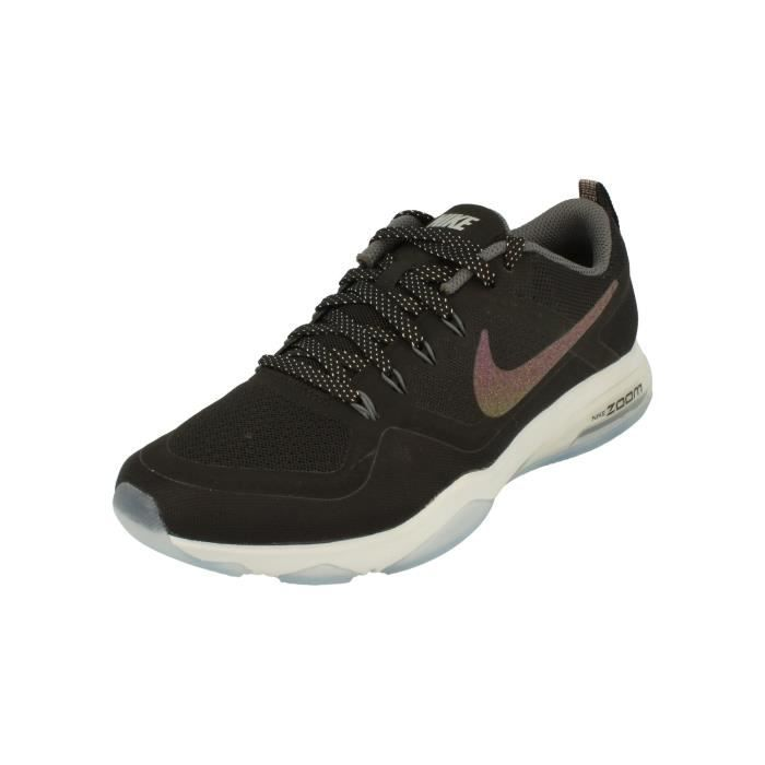 Nike Femme Air Zoom Fitness Metallic Running Trainers 922877 Sneakers Chaussures 1