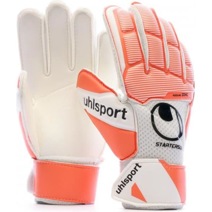 Gants de foot Enfant Orange Uhlsport Starter Soft