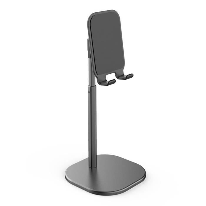 Support de téléphone pliable Support de téléphone polyvalent Support d'angle réglable-noir