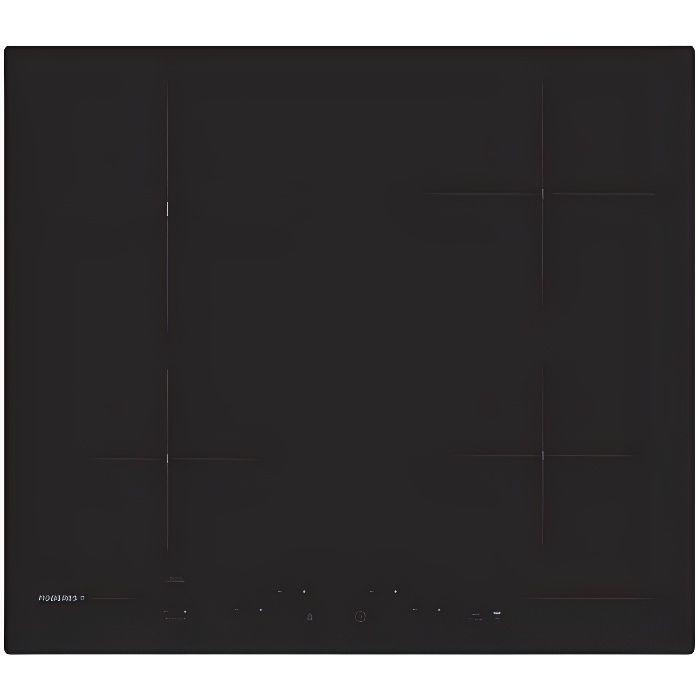 Rosieres RH64CP-1, Intégré, Plaque avec zone à induction, Céramique, Noir, 1200 W, Rond
