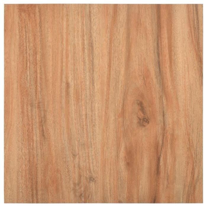 LANG Planches de plancher autoadhésives 5,11 m² PVC Bois clair