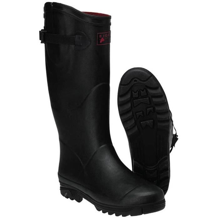 BOTTES HOMME EIGER COMFORT-ZONE RUBBER BOOTS (46) O8a1rQ