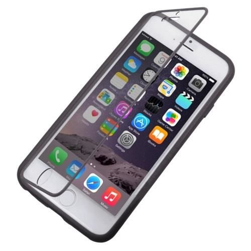 coque rabat iphone 6 silicone