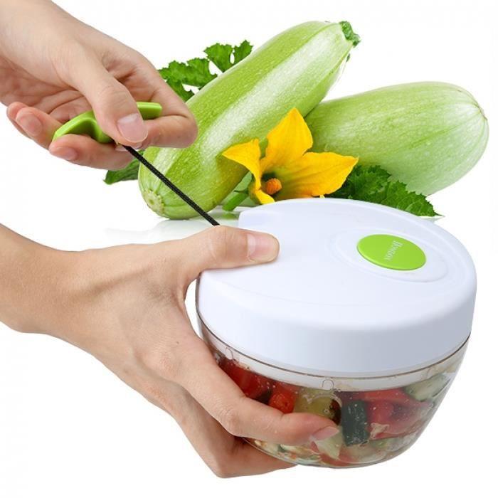 Decoupe Legumes Fruits Hachoir Multifonction
