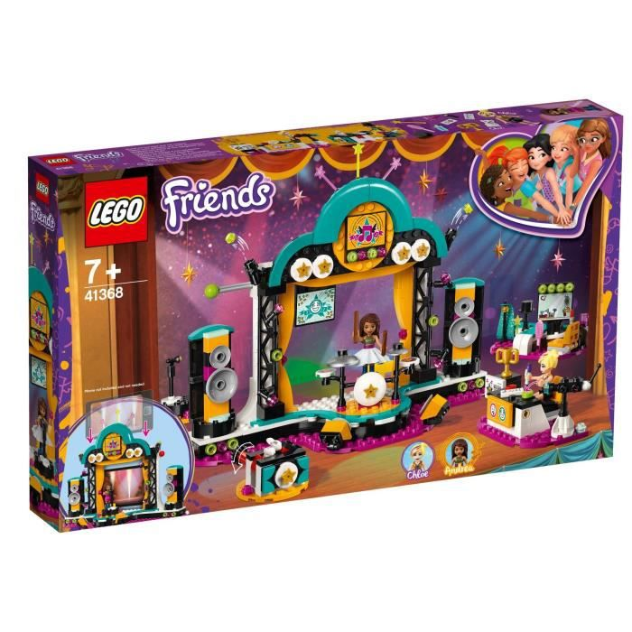 ASSEMBLAGE CONSTRUCTION LEGO® Friends 41368 Le spectacle d'Andréa