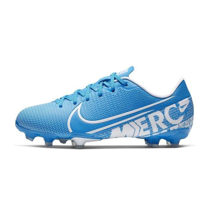 Chaussures Football Nike Mercurial Vapor Xiii Academy Mg Bleu ...