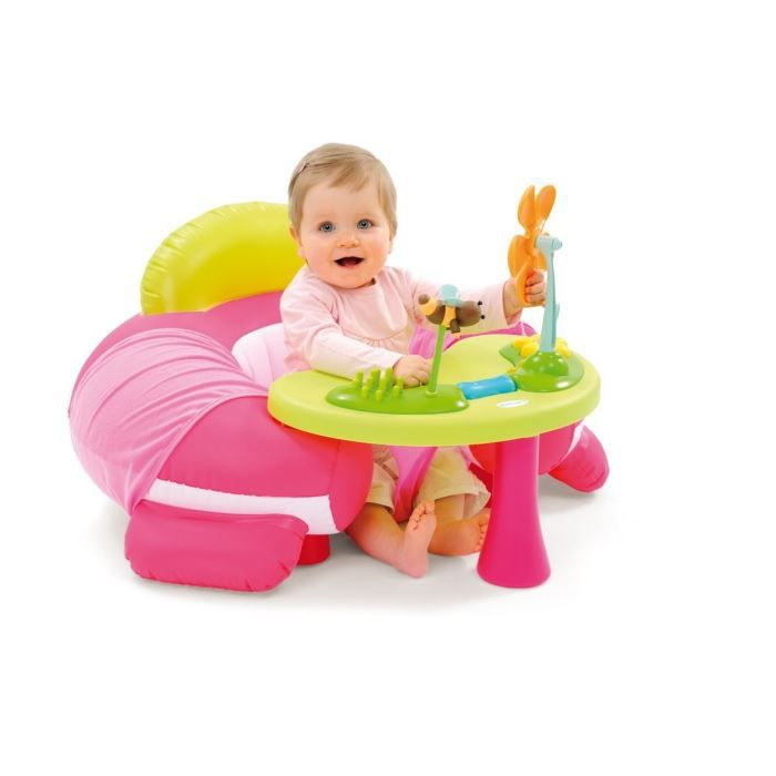 cotoons si ge evolutif cosy rose achat vente chaise