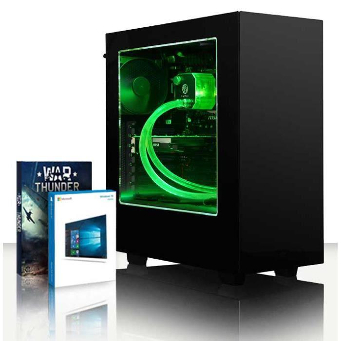 UNITÉ CENTRALE  VIBOX Ariel 28 PC Gamer Ordinateur avec War Thunde