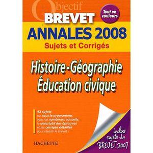 Livre Annales Histoire Geographie Achat Vente Livre Annales Histoire Geographie Pas Cher Soldes Sur Cdiscount Des Le 20 Janvier Cdiscount