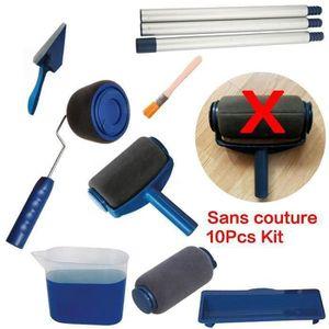 ROULEAU DE PEINTURE 10pcs Sans couture rouleau de peinture kit , paint