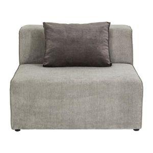 BOUT DE CANAPÉ Assise centrale 100cm canapé Infinity gris Kare De