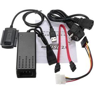 CÂBLE E-SATA USB 2.0 vers SATA IDE Hard Drive pour câble d'alim
