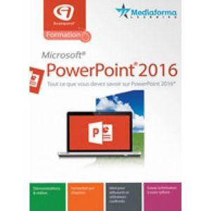BUREAUTIQUE À TÉLÉCHARGER Logiciel Formation à PowerPoint® 2016-(PC en Téléc