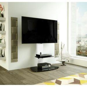 MEUBLE TV AVF Lucerne Meuble TV Cantilever avec Support Inté