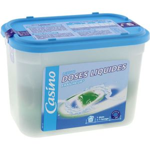 LESSIVE Lessive en doses liquides - 500 g - 20 lavages