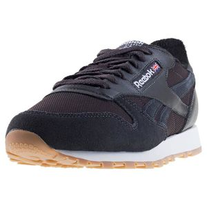 8697d3de517 BASKET Reebok Classic Leather Estl Hommes Baskets charbon