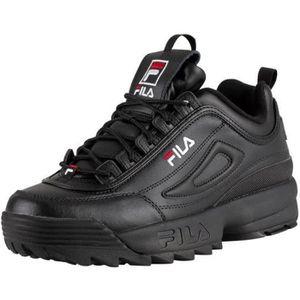 BASKET Fila Homme Disruptor II Premium Trainers, Noir - T