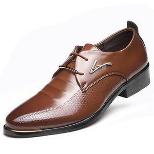 DESAI Homme Chaussures /à Lacets en Cuir Derby Mariage Oxford Business Brogues