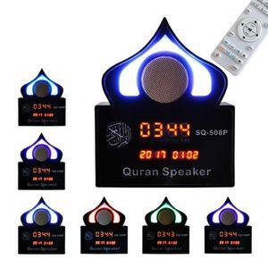 ENCEINTE NOMADE NEUFU Enceinte Bluetooth LED Horloge Coran Récitan