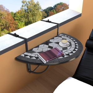 TABLE BASSE JARDIN  Table de Jardin Table de balcon Pliante suspendue