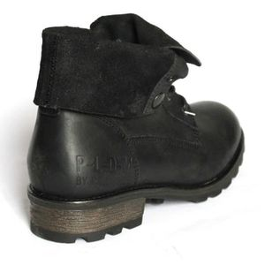 BOTTINE PALLADIUM BOTTINES FEMME LOW BOOTS CUIR T 40 NOIR