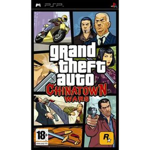JEU PSP Grand Theft Auto Chinatown Wars (uk import) PSP