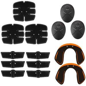 APPAREIL ABDO TEMPSA 14Pcs Kit Appareil de Musculation ABS Fitne