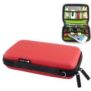 CONSOLE PSP Pour téléphone / Banque d'alimentation rouge / USB