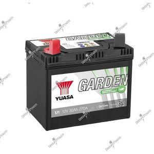 BATTERIE VÉHICULE batterie tracteur tondeuse U1 12V 30Ah 270A Yuasa