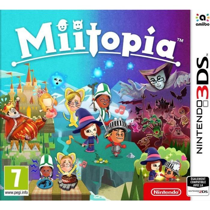 miitopia jeu 3ds achat vente jeu 3ds miitopia jeu 3ds cdiscount. Black Bedroom Furniture Sets. Home Design Ideas