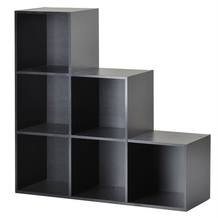 etagere de rangement cdiscount. Black Bedroom Furniture Sets. Home Design Ideas