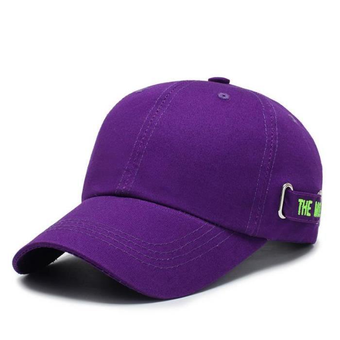 Casquette De Baseball Tout-Match A La Mode Violet1
