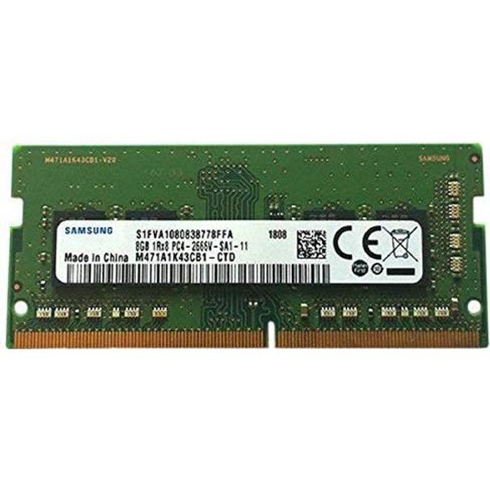 Samsung 8Go DDR4PC421300, 2666MHz, 260Broches SODIMM,...
