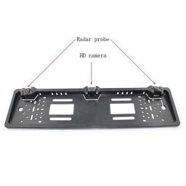Cunibert®Nouvelle plaque d'immatriculation étanche radar caméra de recul CFF60625404