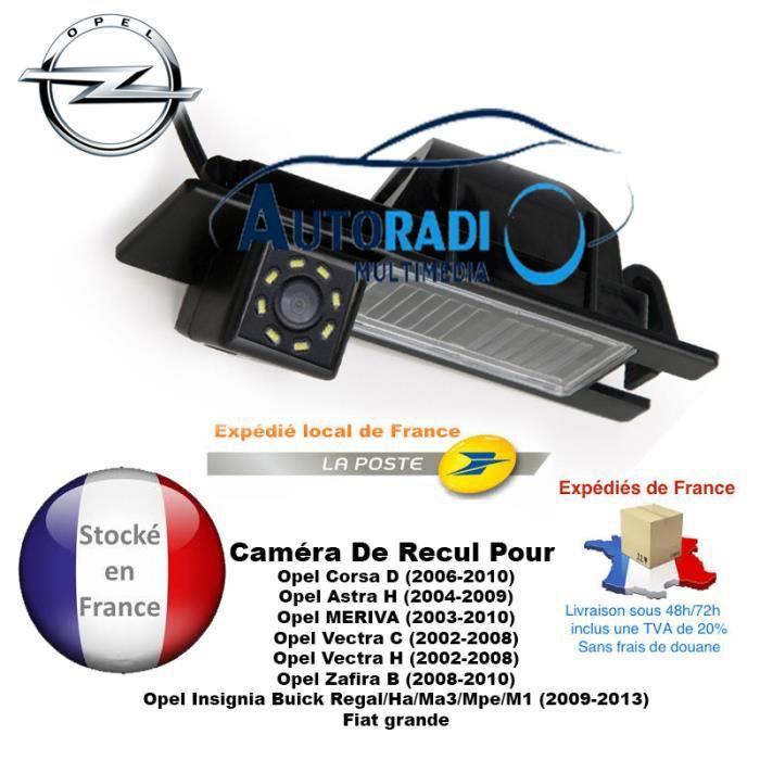 Caméra de recul Opel, Fiat